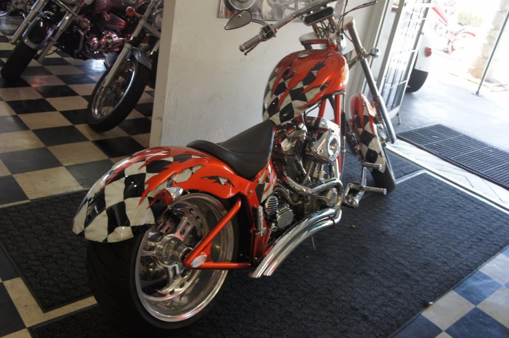 2003 Titan Motorcycle Co. Sidewinder Chopper Softail