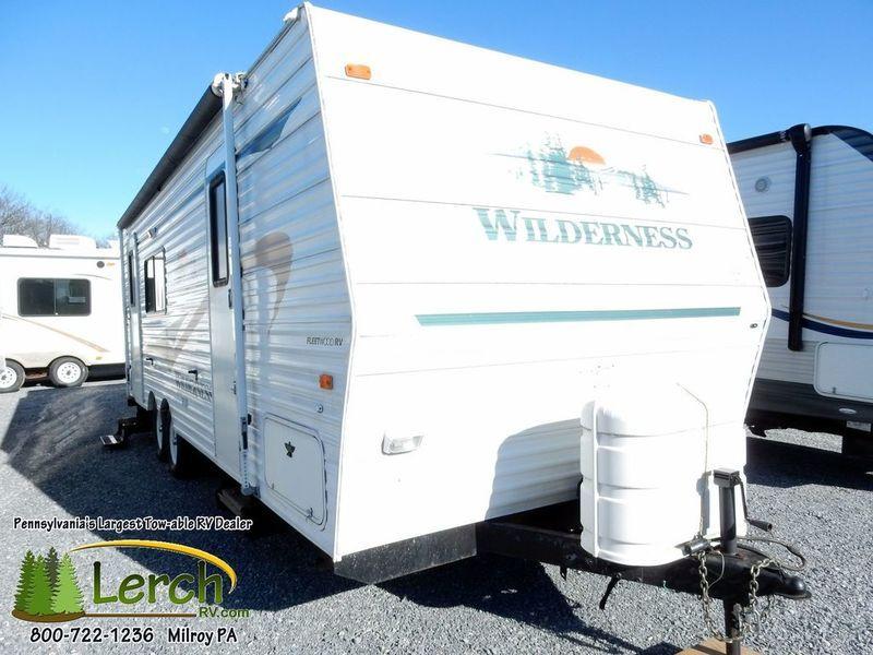 2004 Fleetwood Rv Wilderness 250RKS