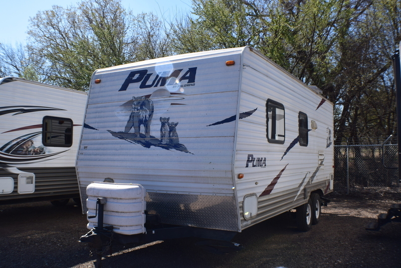 2008 Palomino Puma Travel Trailer 20-QB