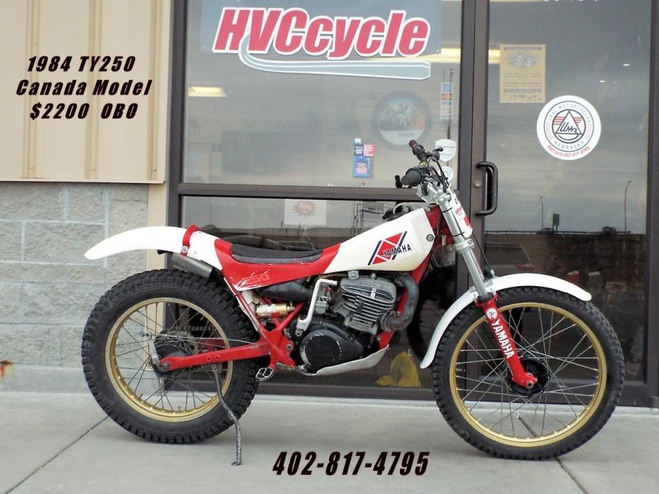 1984 Yamaha TY 250 Mono Shock
