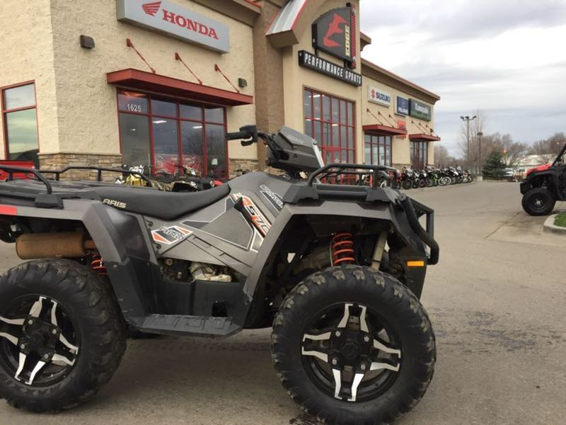 2015 Polaris Sportsman 570 SP EPS Titanium Matte Metallic