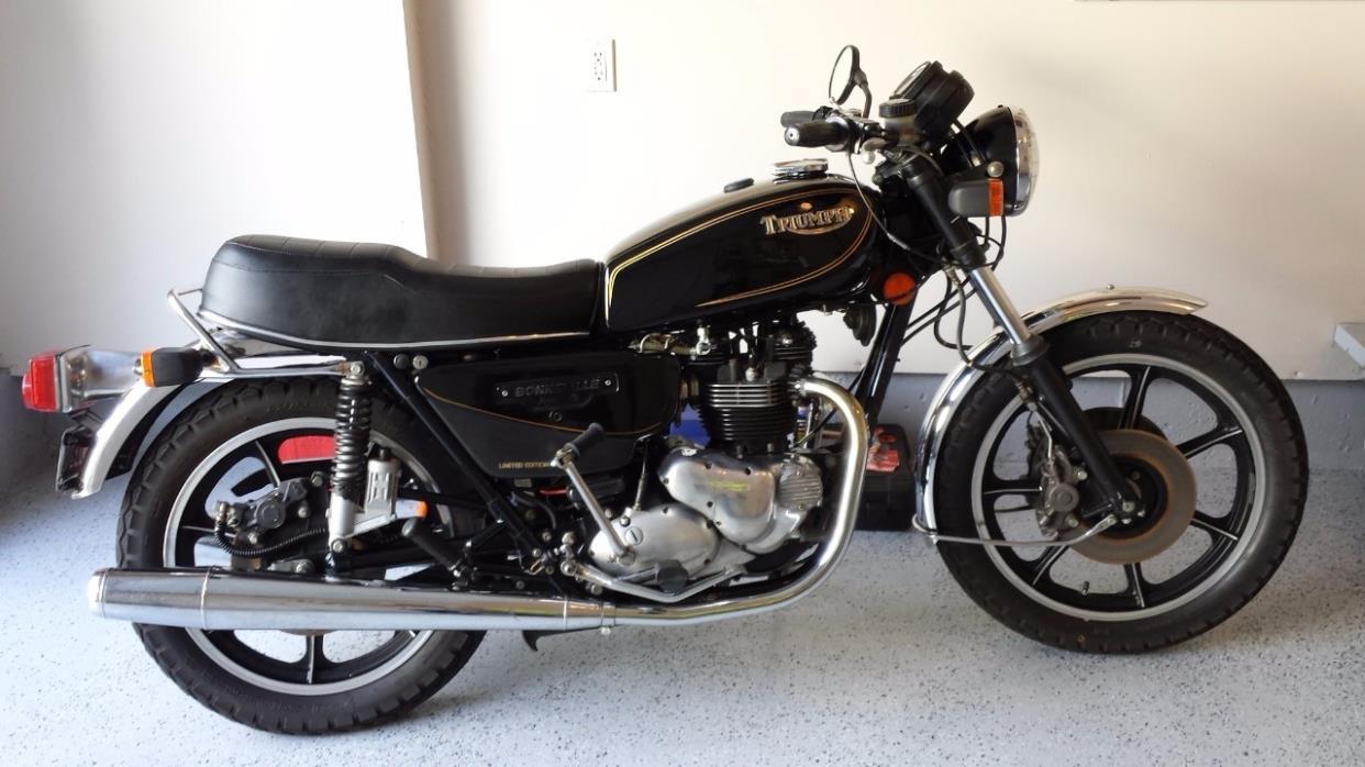 1982 Triumph BONNEVILLE T140