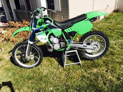 1993 Kawasaki KX 500