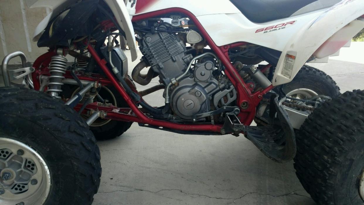 2004 Yamaha RAPTOR 660