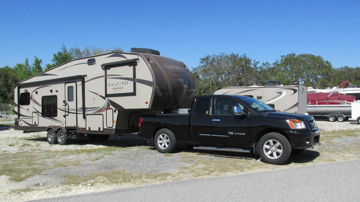 2015 Forest River ROCKWOOD SIGNATURE ULTRA 8281WS