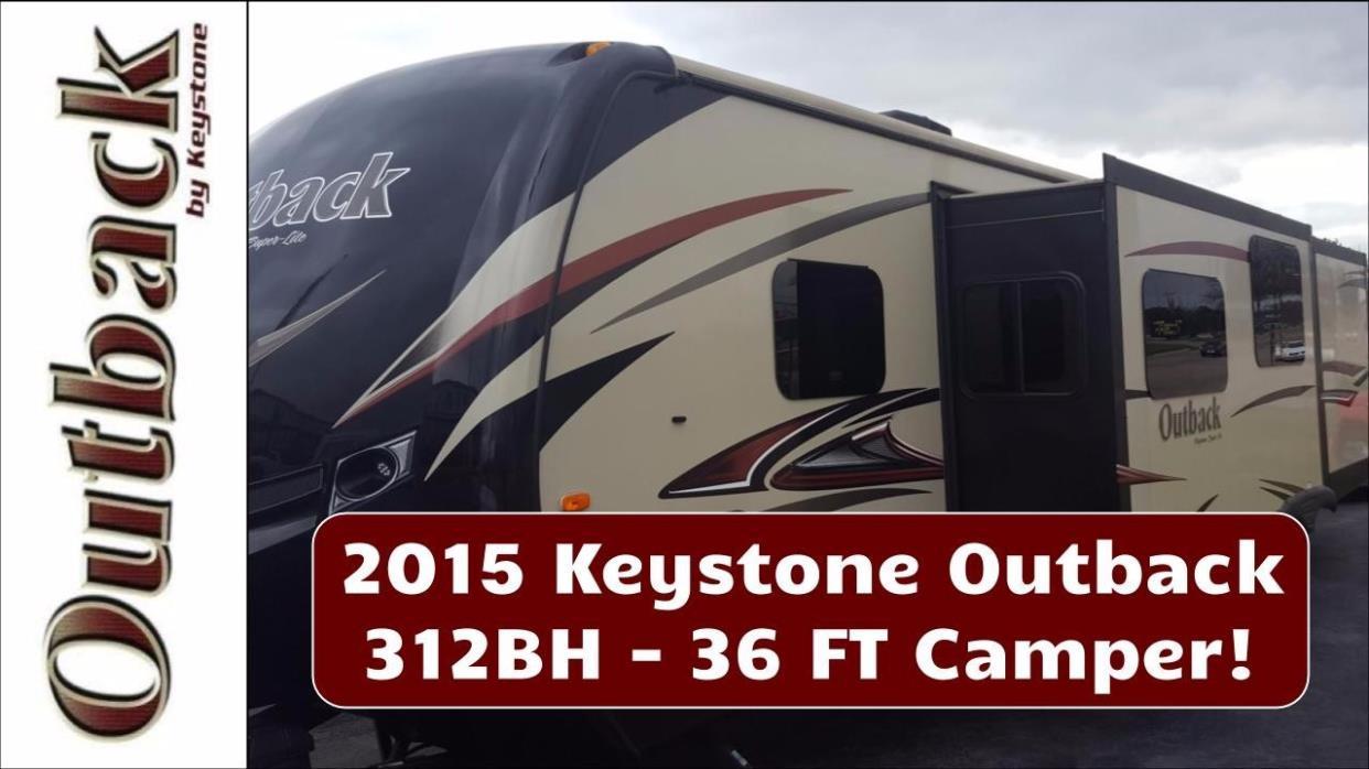 2015 Keystone OUTBACK 312BH