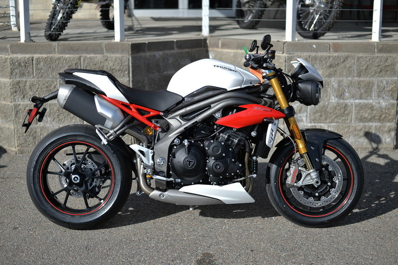 triumph speed triple r abs crystal white motorcycles for sale. Black Bedroom Furniture Sets. Home Design Ideas