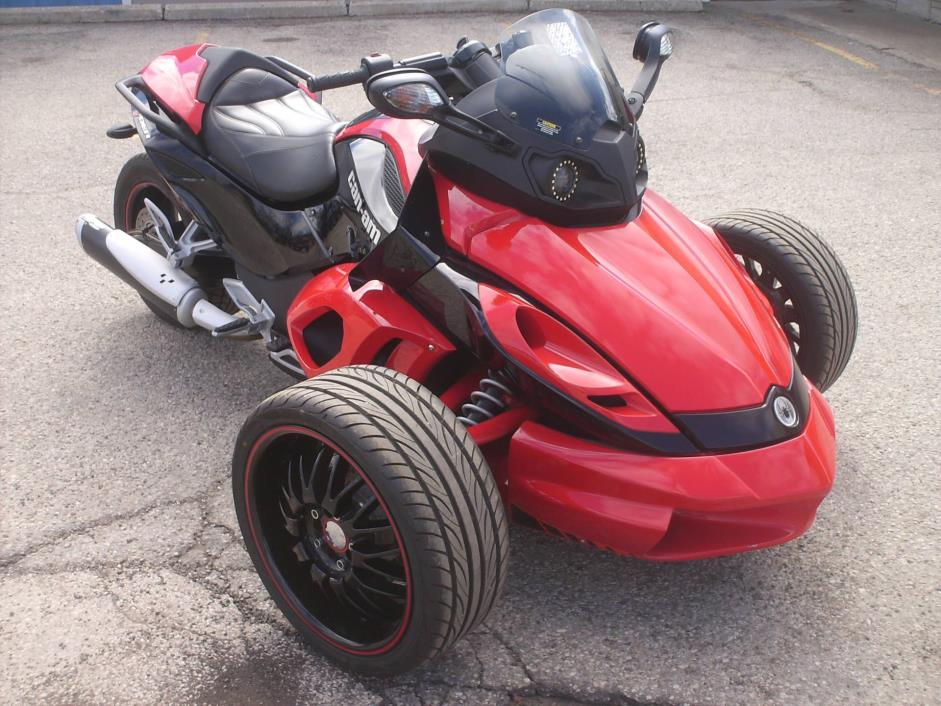 can am spyder gs roadster with sm5 transmission manual. Black Bedroom Furniture Sets. Home Design Ideas
