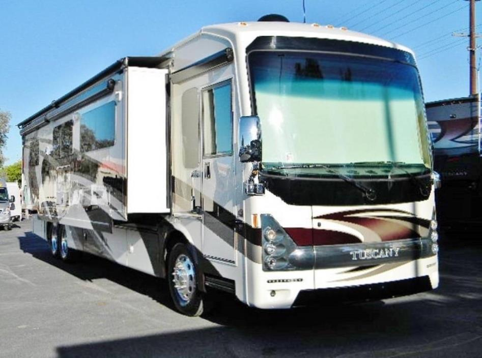 2014 thor tuscany 42wx rvs for sale for Thor motor coach tuscany
