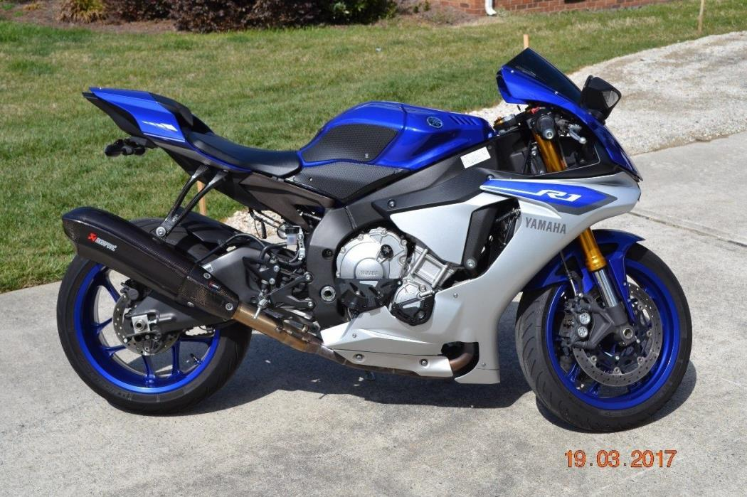 yamaha r1 motorcycles for sale in north carolina