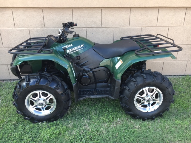 yamaha kodiak 450 motorcycles for sale in texas. Black Bedroom Furniture Sets. Home Design Ideas