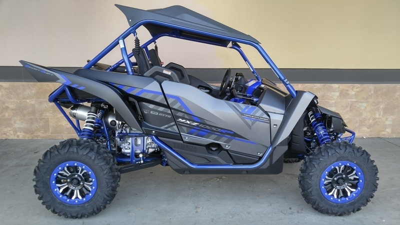 yamaha yxz1000r ss se matte grey motorcycles for sale