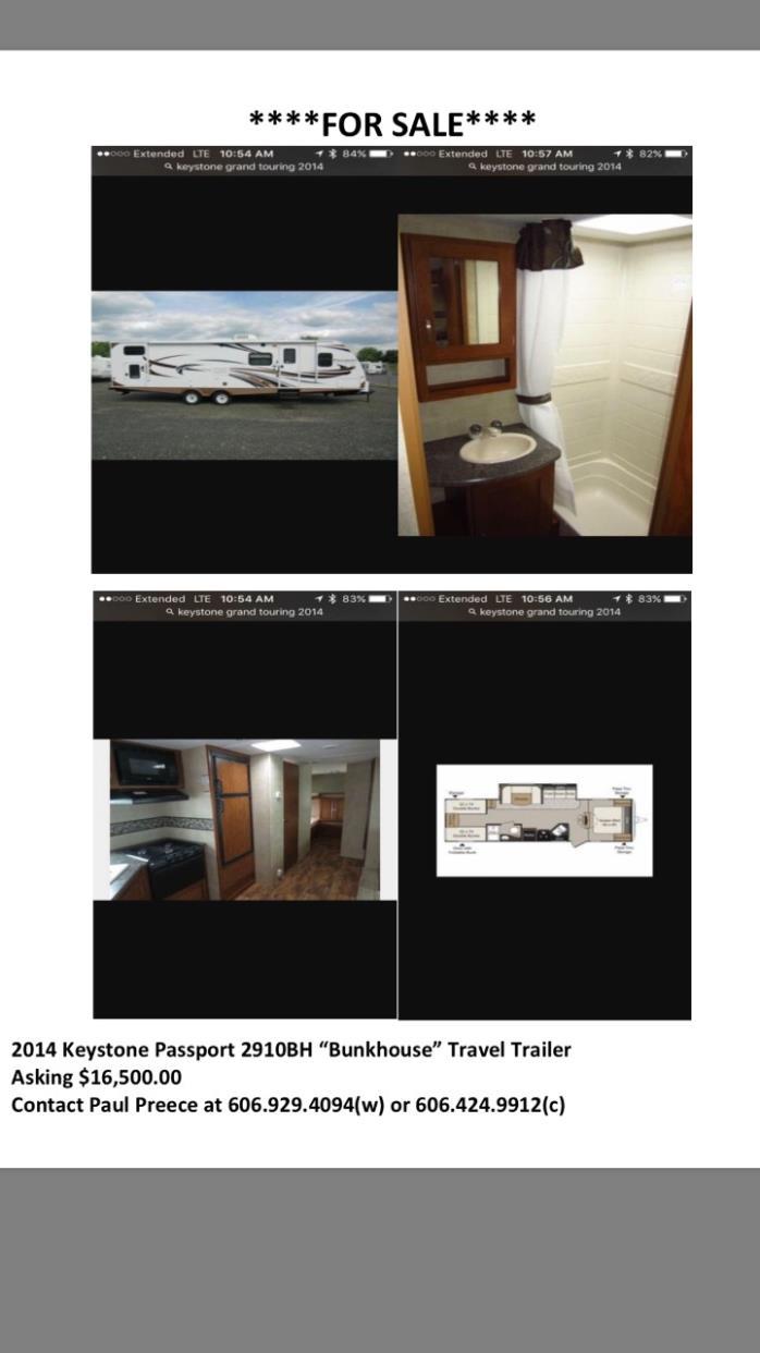 2014 Keystone PASSPORT 2910BH