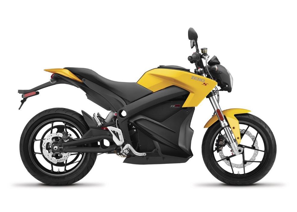 2017 Zero Motorcycles ZERO-S