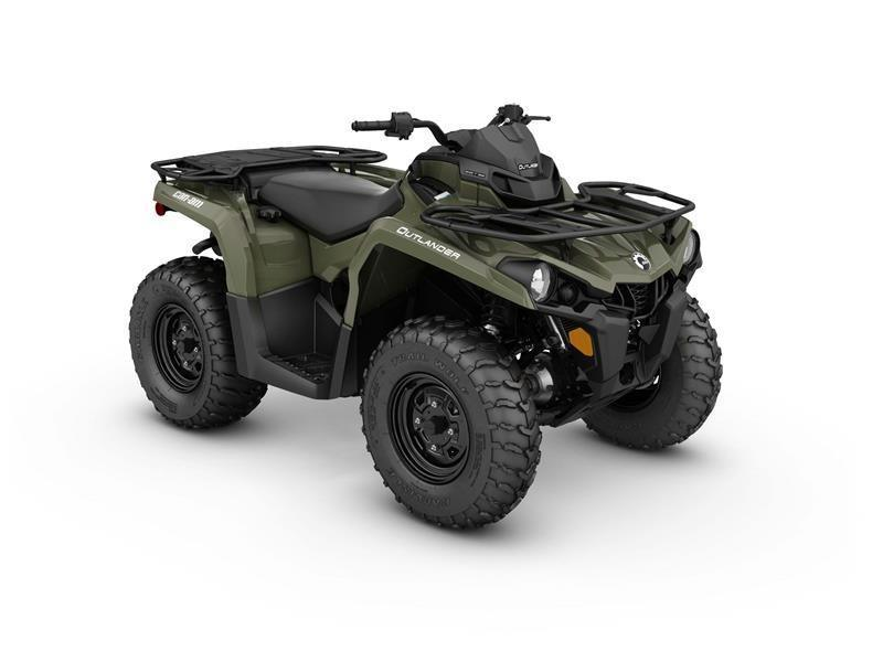 2017 Can-Am Outlander 450