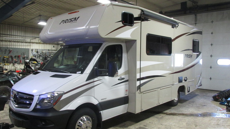 2017 Coachmen Prism Profile 2250LE