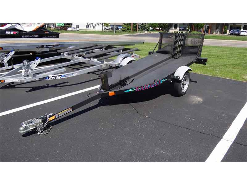 2003 Karavan 2003 KARAVAN CUSTOM BIKE TRAILER BLACK