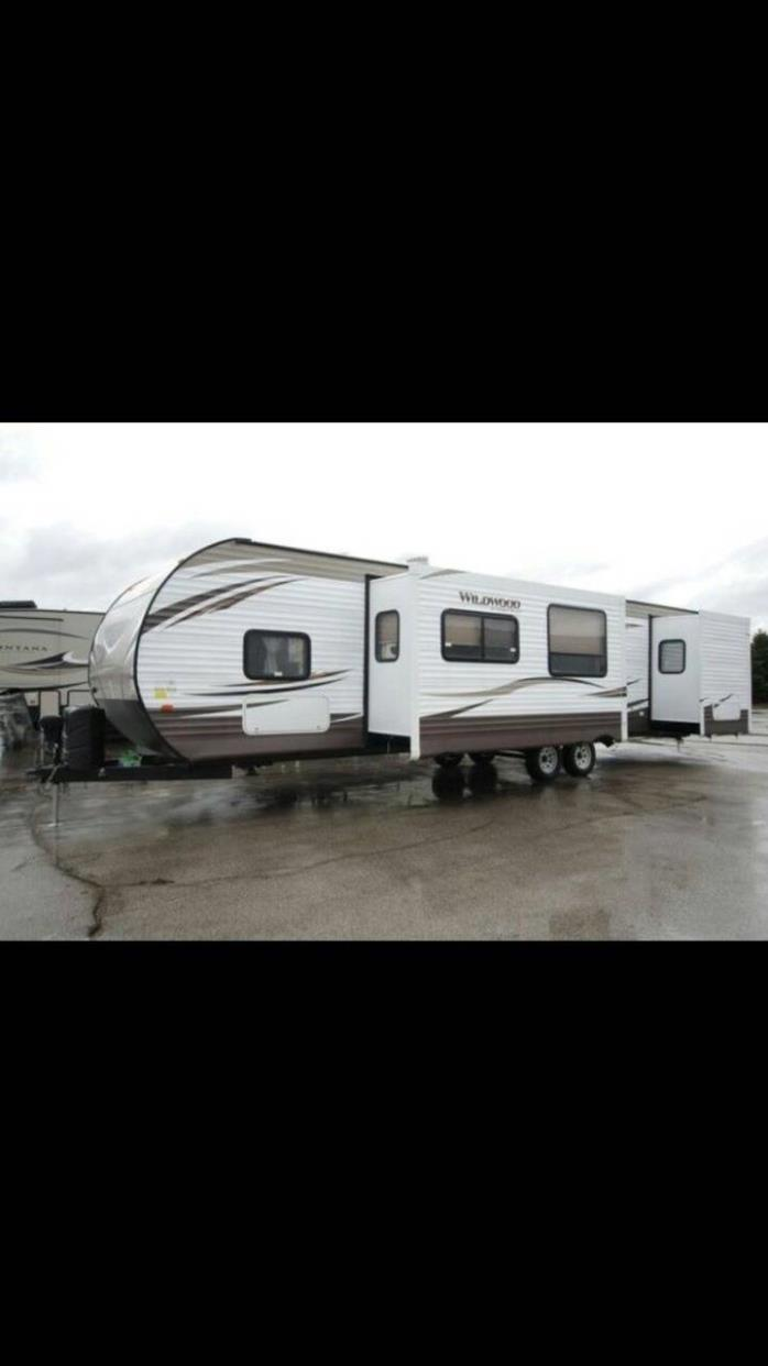 2015 Forest River WILDWOOD 36BHBS