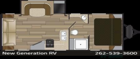 2018 Cruiser Rv Fun Finder 25RS