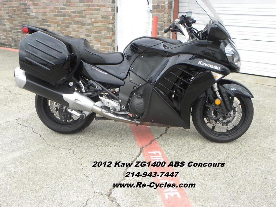 2012 Kawasaki ZG1400 ABS Concours