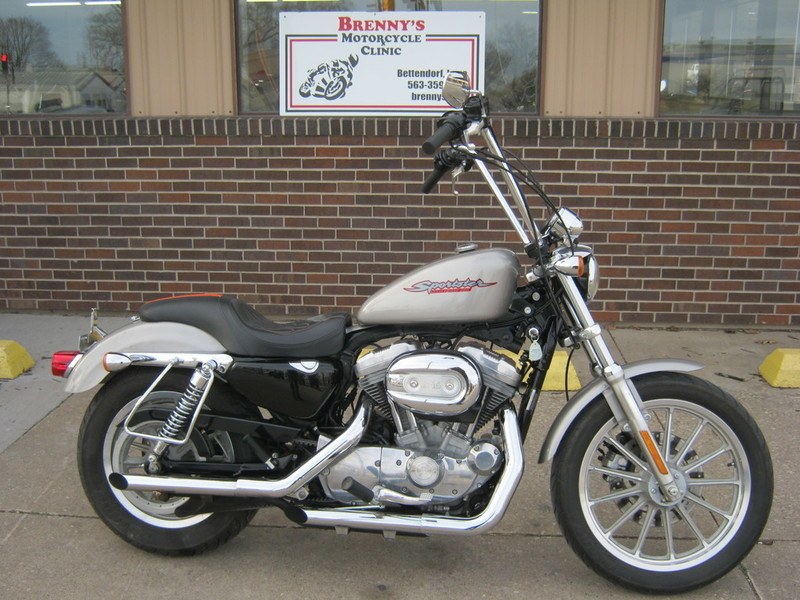 harley davidson xl883 sportster 833 motorcycles for sale in iowa. Black Bedroom Furniture Sets. Home Design Ideas