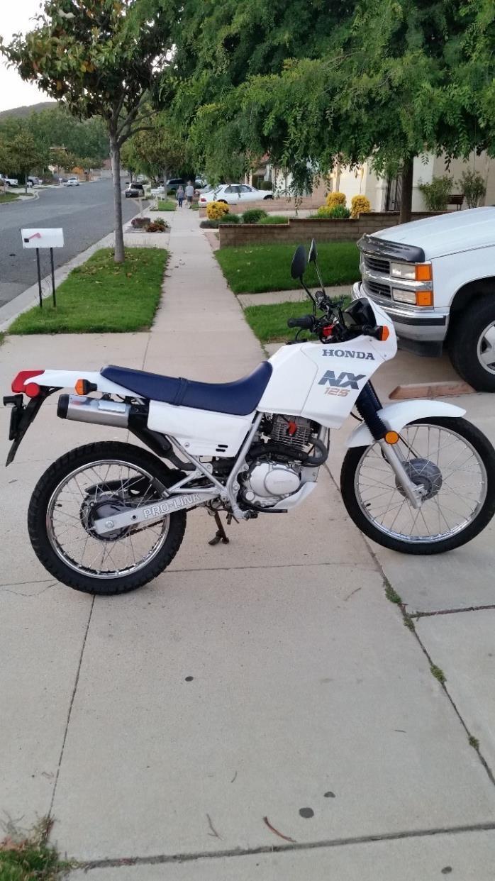 1988 Honda NX125
