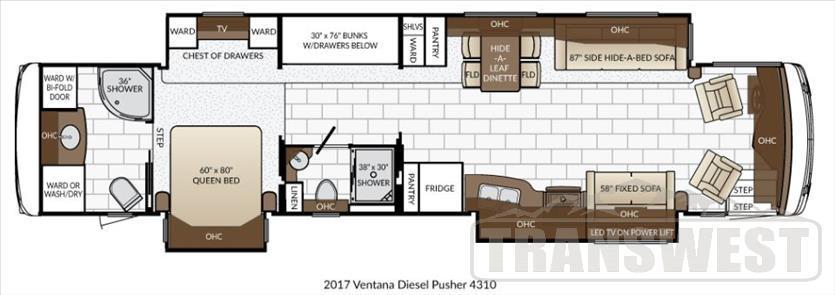 2017 Newmar Ventana 4310
