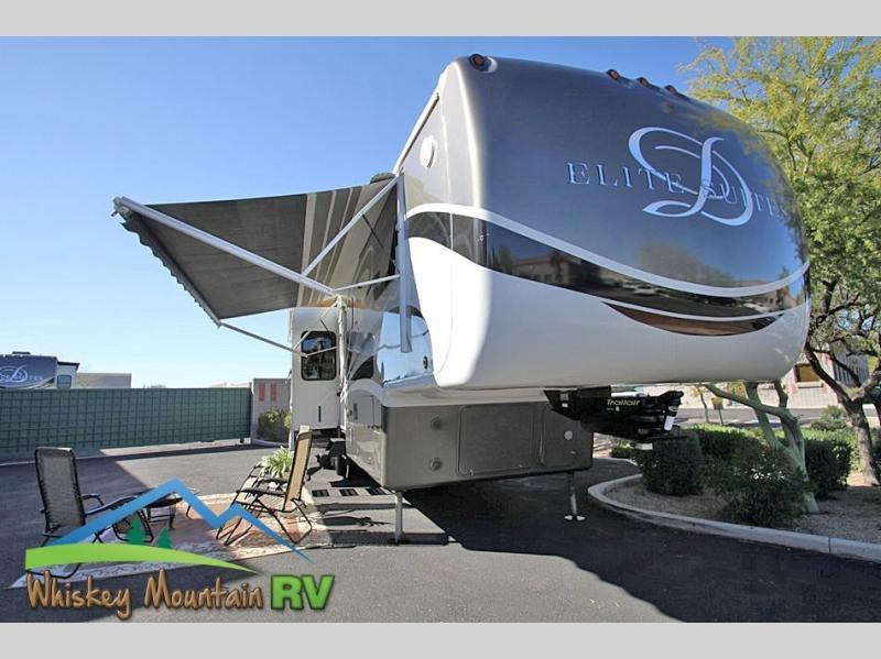 2012 DRV Elite Suites 41 RESB4 42' Quad Slide