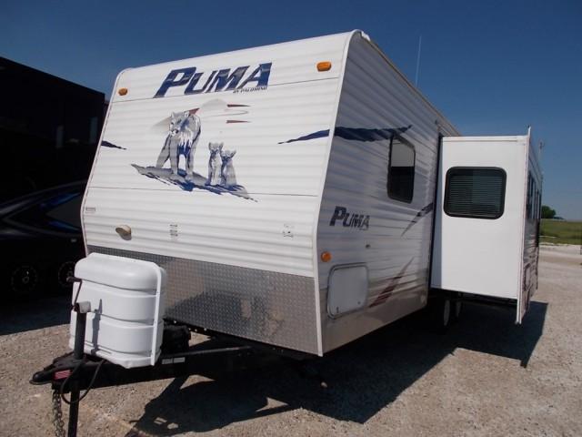 2008 Palomino Puma Travel Trailer 26FBSS