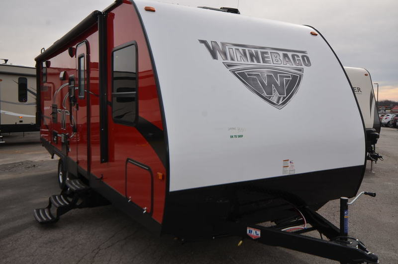 2018 Winnebago MINNIE 2455BHS TRAVEL TRAILER