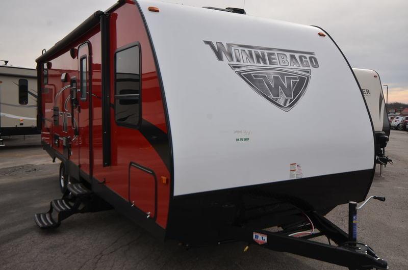 2018 Winnebago MINNIE 2455BHS TRAVEL TRAILER