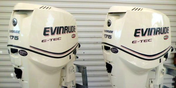 2009 Evinrude 175HP 25 INCH SHAFT .. DIRECT INJECTED, 2-STROKE OUTBOA