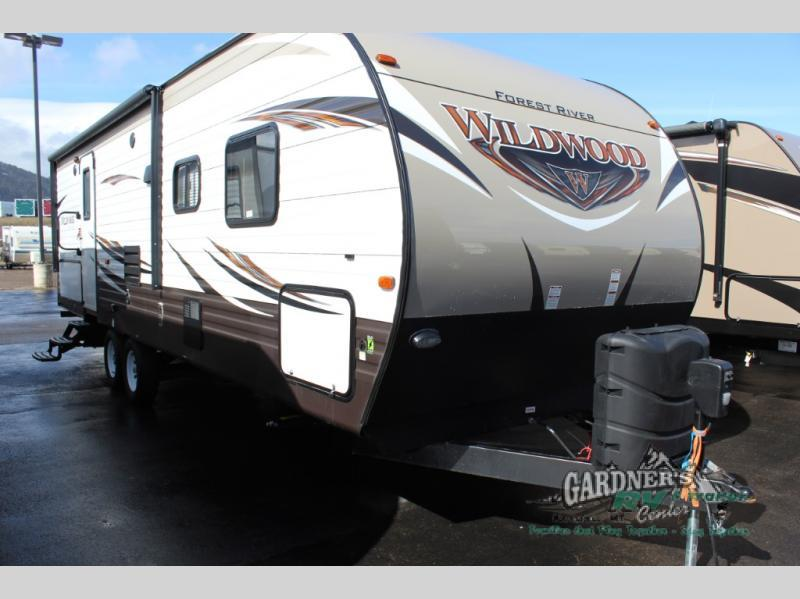 2017 Forest River Rv Wildwood Heritage Glen Hyper-Lyte 27DBK