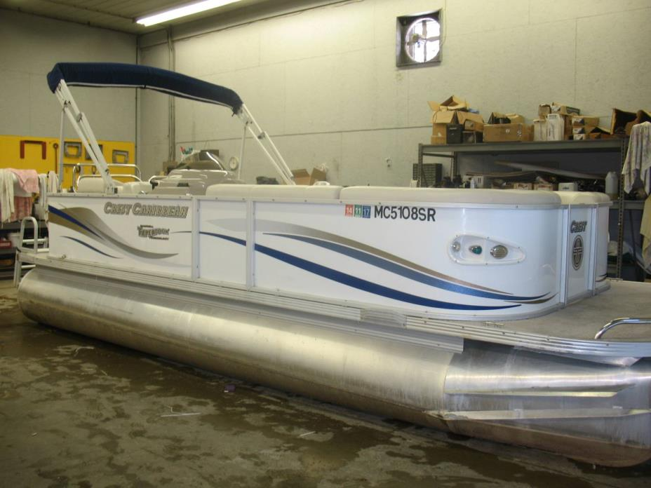 Crest Pontoon Boats Caribbean Boats for sale