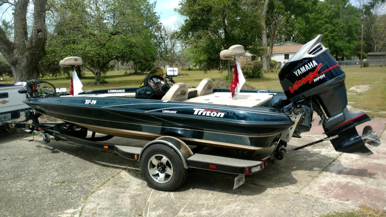 2001 Triton TR 19