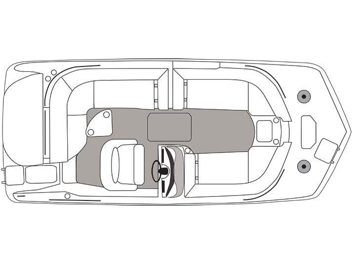 2016 HURRICANE BOATS SS 202 IO