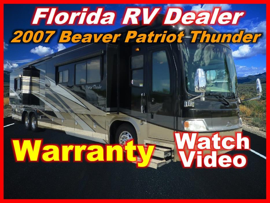 2007 Beaver Patriot Thunder Saratoga IV
