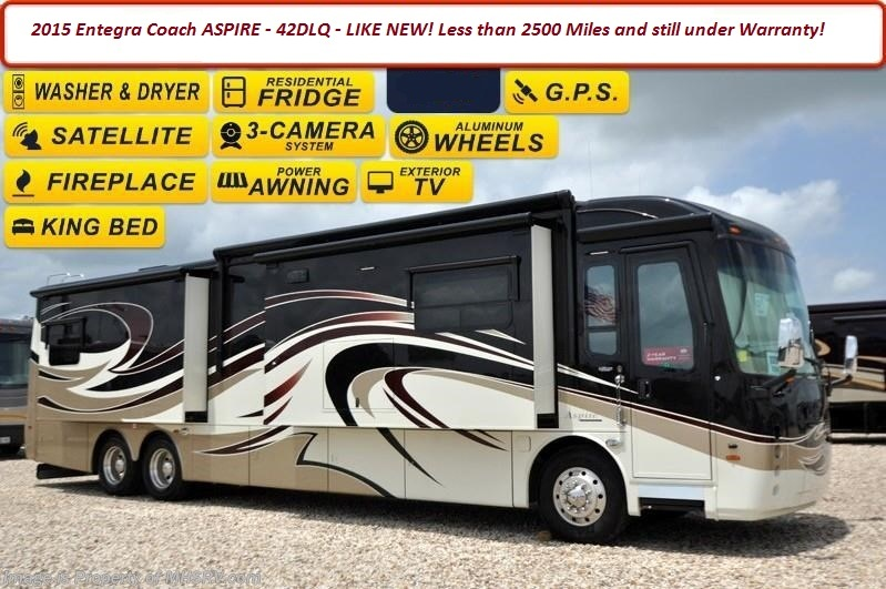 2015 Entegra Coach ASPIRE 42DL