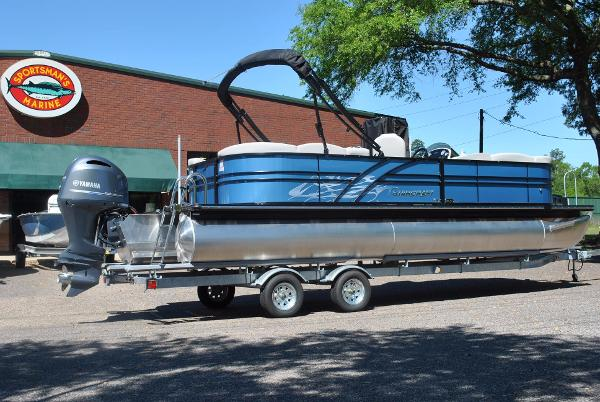 2017 Starcraft SLS 5 Pontoon (Wave Blue)