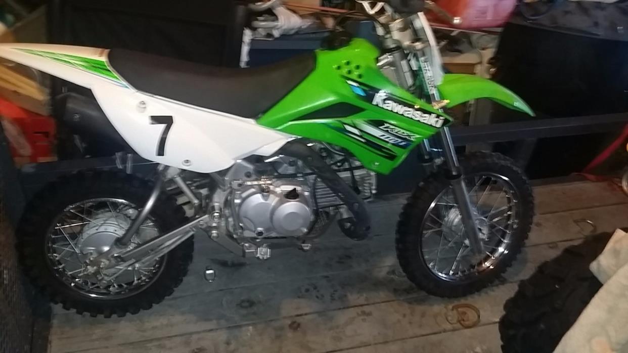 2013 Kawasaki KLX 110L