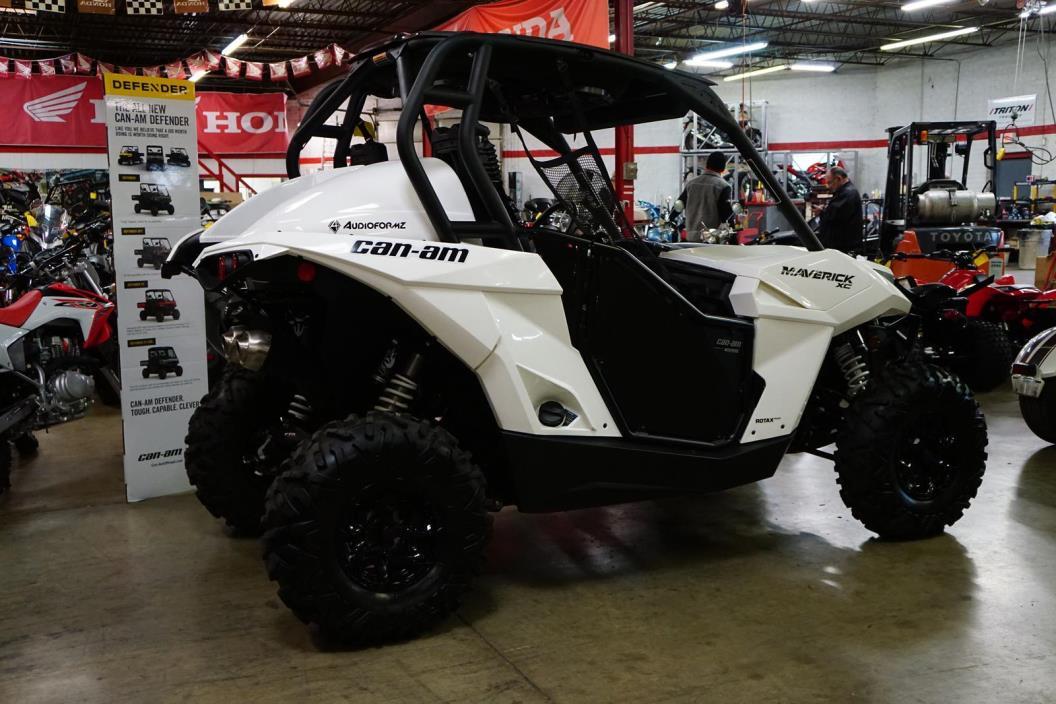 2016 Can-Am Maverick XC 1000R - White
