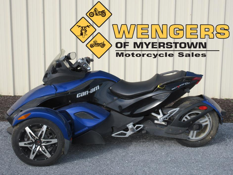 2010 Can Am Spyder RS SE5