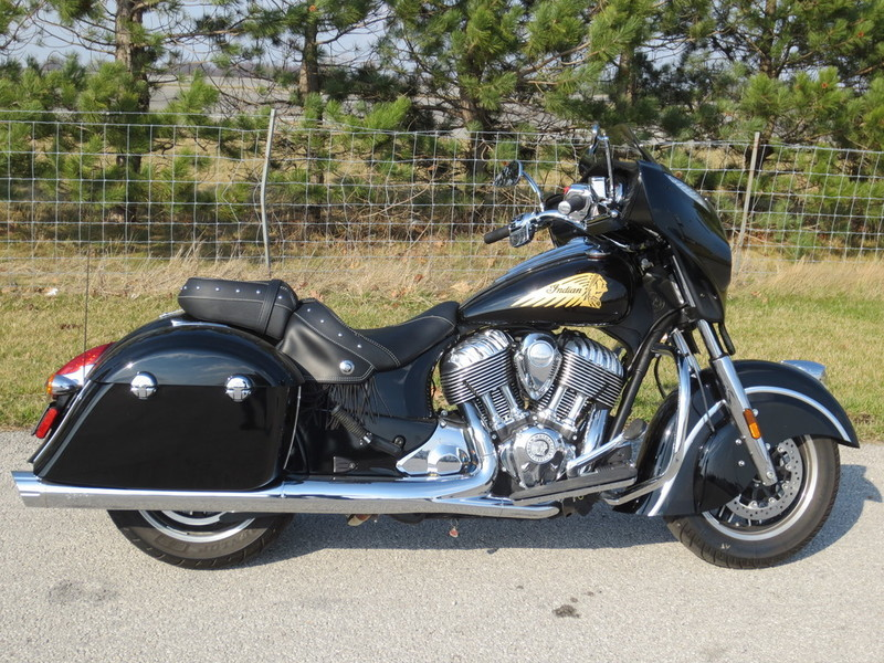 2016 Indian Chieftain Thunder Black