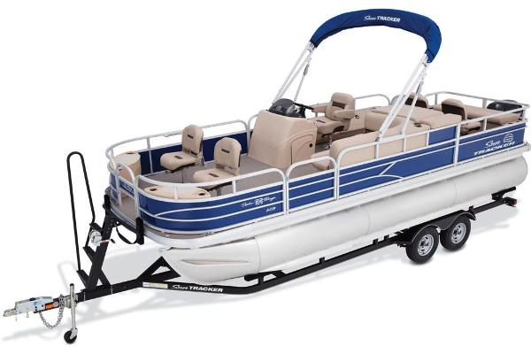 2017 Sun Tracker Fishin' Barge 22 XP3