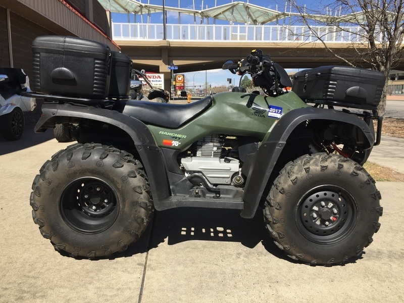 2004 Honda FourTrax Rancher AT GPScape