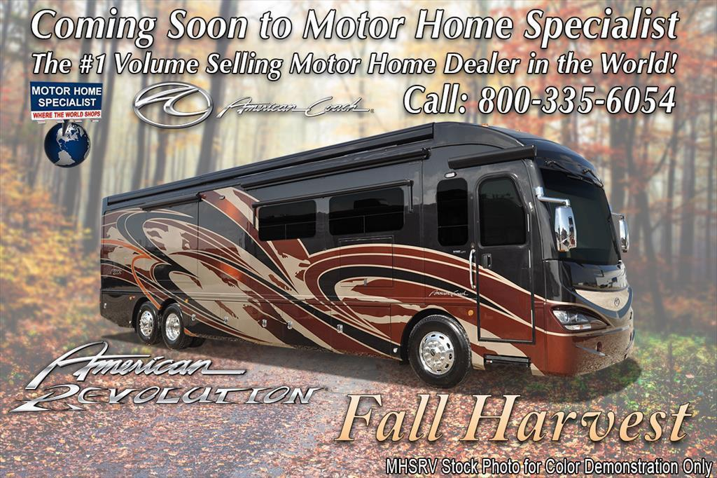 2017 American Coach American Revolution 42S Bath & 1/2 Luxury RV W/Ultra &
