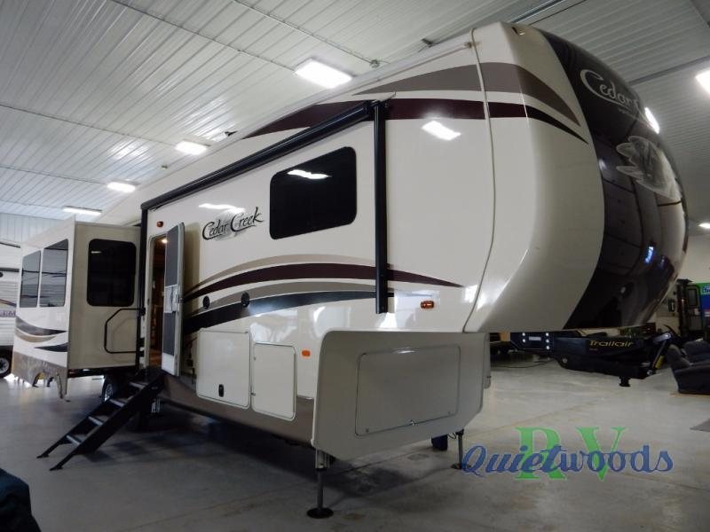 2017 Forest River Rv Cedar Creek Hathaway Edition 34RL2