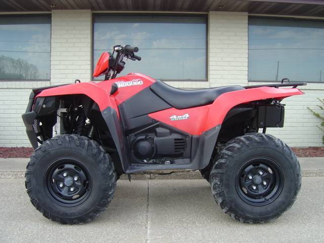 2013 Suzuki Motor Of America Inc. KingQuad 500AXi Power Steering