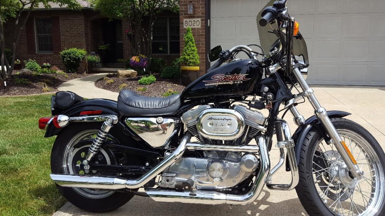 harley davidson sportster motorcycles for sale in cleveland, ohio