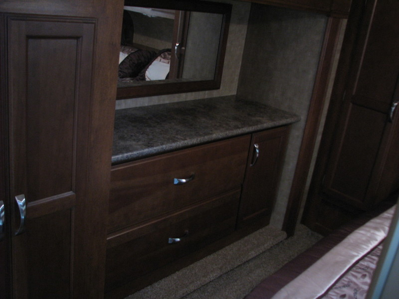 2014 Kz Rv Durango 1500 D245SB Wardrobe Closet Slide Option